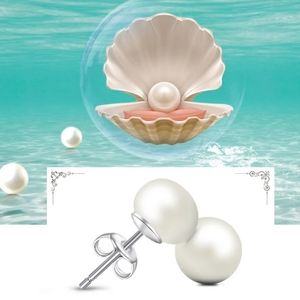 Freshwater 9mm Pearl Studs .925 Sterling Silver